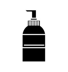 soap icon black sign on vector image