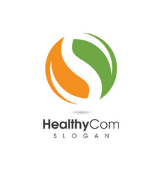 Tree leaf logo design eco-friendly concept vector