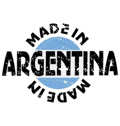 Made in argentina vector