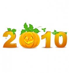 2010 Halloween vector image