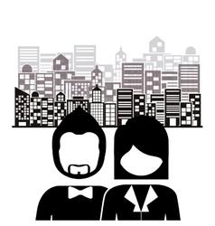 Couple life design vector