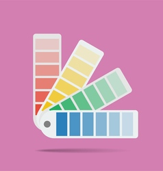 Color swatch vector image