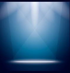 Abstract Background with Bright Stage Light Rays vector image vector image