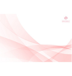 abstract pink curve spiral lines background with vector image