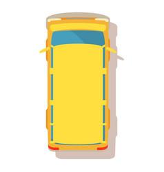 Bus icon cartoon style vector