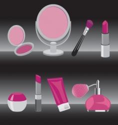 make up vector image vector image