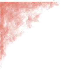 Peach pink watercolor abstract background vector