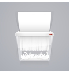 Paper Shredder Machine vector image
