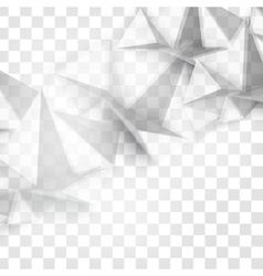 Abstract geometric shape from gray vector