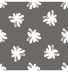 Floral seamless pattern of stroke chamomilepattern vector