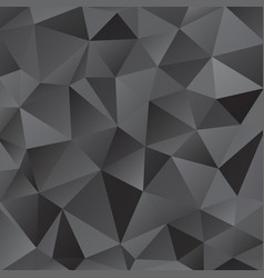 black shiny triangle background design vector image vector image
