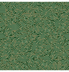 Circuit seamless pattern vector image