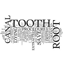 The dreaded root canal text background word cloud vector