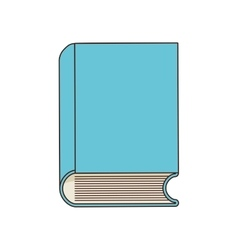 Book class school instrument icon vector