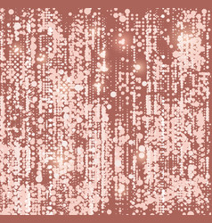 Dots background mosaic with light spots disco vector