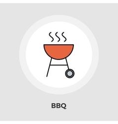 BBQ Icon Flat vector image