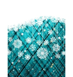 blue abstract christmas background eps 8 vector image vector image
