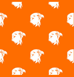 eagle pattern seamless vector image