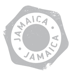 Jamaica stamp rubber grunge vector