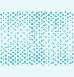 Mint blue abstract background with dots vector