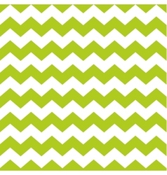 Zig zag chevron green and white tile pattern vector