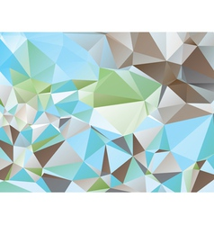 Colorful Triangles vector image vector image