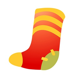 Icon sock vector