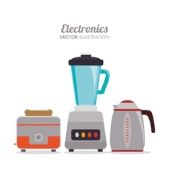 Home appliance graphic vector