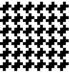 Abstract seamless pattern background black and vector