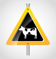 animal signal vector image