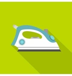 Iron icon flat style vector image