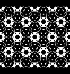 seamless pattern with hexagons rhombuses vector image vector image