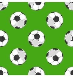 Soccer ball pattern background vector