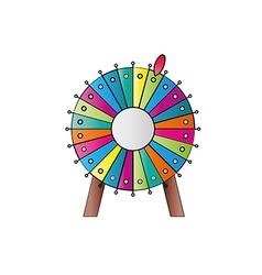 Wheel of fortune vector