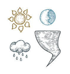 A set of weather vector