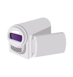 Digital video camera cartoon icon vector