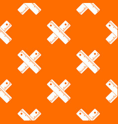 Two crossed rulers pattern seamless vector