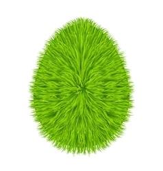 Grass egg symbol vector