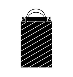 shopping bag isometric icon vector image