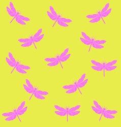 dragonflyPattern2 vector image