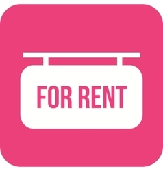 For rent vector