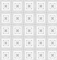 Grunge repeating pattern on a white background vector
