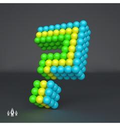 Question icon Design element 3d vector image