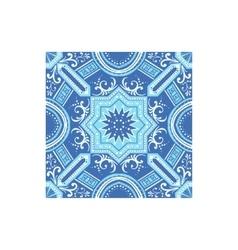 Azulejo tilework portuguese famous symbol vector