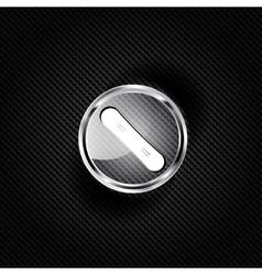 Snowboard web icon vector image vector image