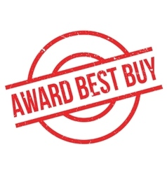 Award best buy rubber stamp vector