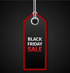 Black friday sales tag eps 10 vector