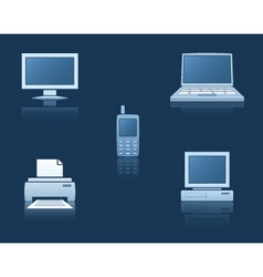 Computer equipment vector