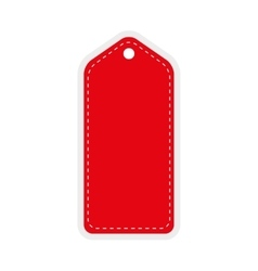 Red tag icon label design graphic vector