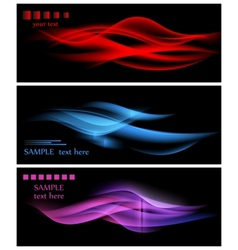 abstract wavy backgrounds vector image